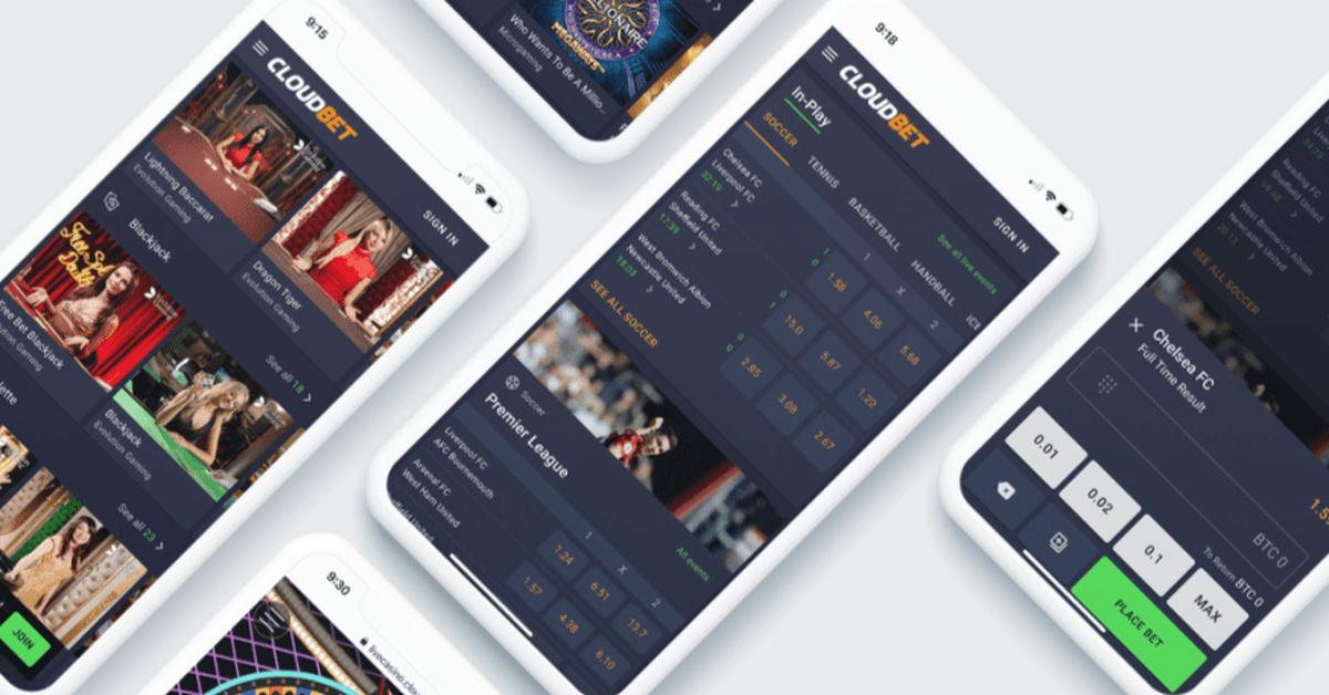 Crypto sportsbook Cloudbet unveils next-gen website