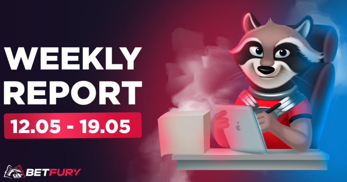 betfury weekly report