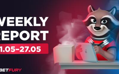 betfury weekly update